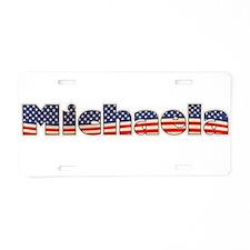 American Michaela Aluminum License Plate