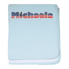 American Michaela baby blanket