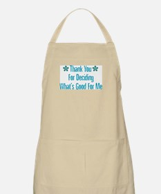 What's Good For Me BBQ Apron
