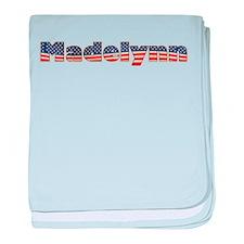 American Madelynn baby blanket