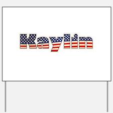 American Kaylin Yard Sign