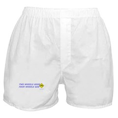 Two Wheels Good Boxer Shorts
