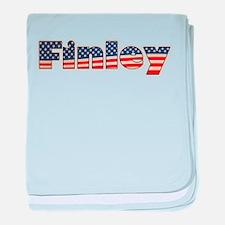 American Finley baby blanket