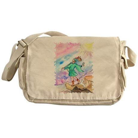 Tarot Fool Card Messenger Bag