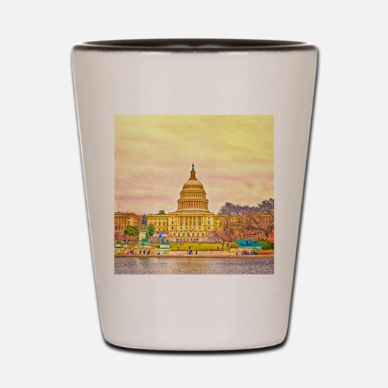 National Capitol Shot Glass