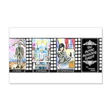 Movie Monster Tarot 22x14 Wall Peel