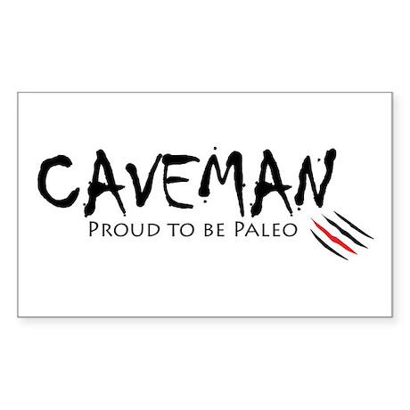 Caveman Sticker (Rectangle)