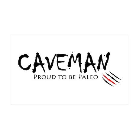 Caveman 38.5 x 24.5 Wall Peel
