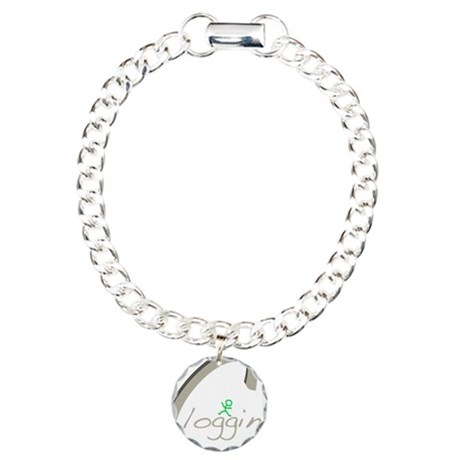 Clogging Charm Bracelet, One Charm