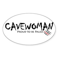 Cavewoman Decal