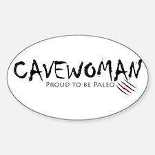 Cavewoman Decal