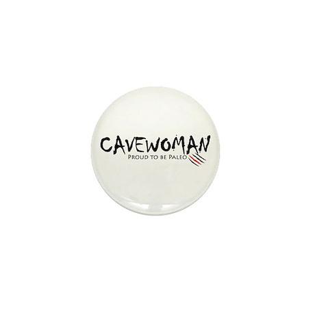 Cavewoman Mini Button