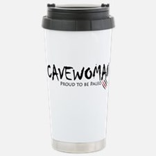 Cavewoman Stainless Steel Travel Mug