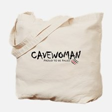 Cavewoman Tote Bag