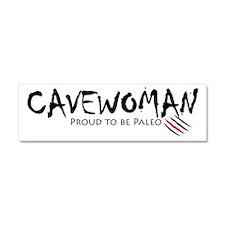 Cavewoman Car Magnet 10 x 3