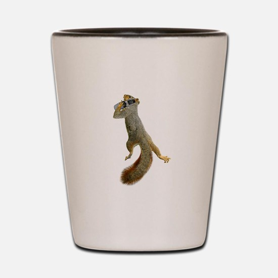 Squirrel Cell Phone Shot Glass