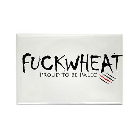 Fuckwheat Rectangle Magnet