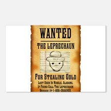 Unique Mobile leprechaun Postcards (Package of 8)