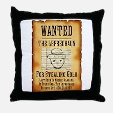 Cute Alabama leprechaun Throw Pillow