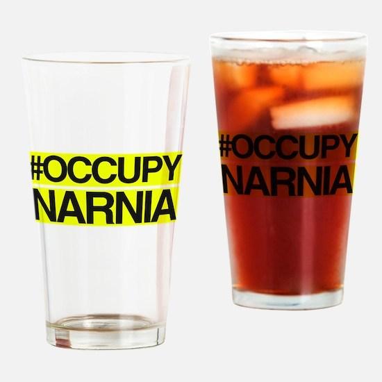 Occupy Narnia Drinking Glass