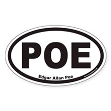 POE Euro Oval Decal