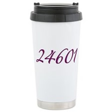 24601 Les Miserable Prisoner Number Travel Mug