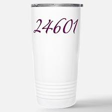 24601 Les Miserable Prisoner Number Travel Mug