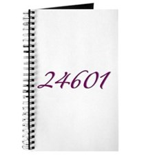 24601 Les Miserable Prisoner Number Journal