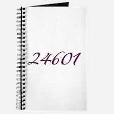 24601 Les Miserable Prisoner Number Journal