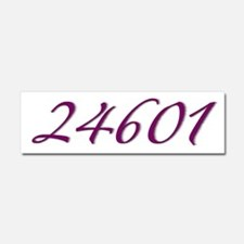 24601 Les Miserable Prisoner Number Car Magnet 10