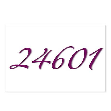 24601 Les Miserable Prisoner Number Postcards (Pac