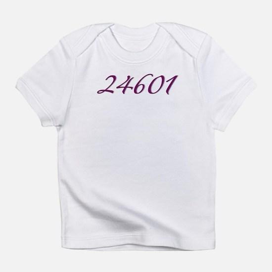 24601 Les Miserable Prisoner Number Infant T-Shirt
