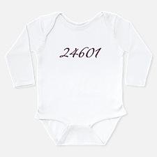 24601 Les Miserable Prisoner Number Long Sleeve In