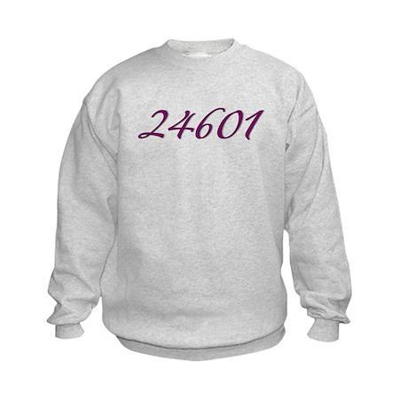 24601 Les Miserable Prisoner Number Kids Sweatshir