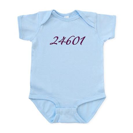 24601 Les Miserable Prisoner Number Infant Bodysui