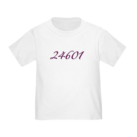 24601 Les Miserable Prisoner Number Toddler T-Shir