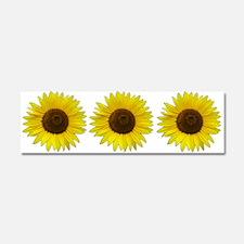 Helaine's Sunflower Car Magnet 10 x 3