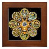 Wheel of the year Framed Tiles