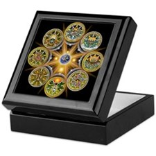 Witch's Wheel of the Year Keepsake Box