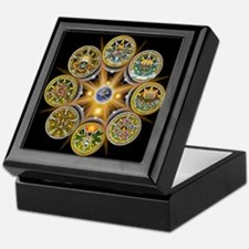 Witch's Wheel of the Year Keepsake Box