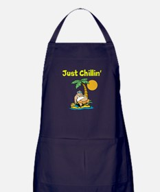 Just Chillin' Apron (dark)
