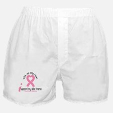 With All My Heart Breast Cancer Boxer Shorts