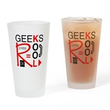 Geeks R Kool Pint Glass