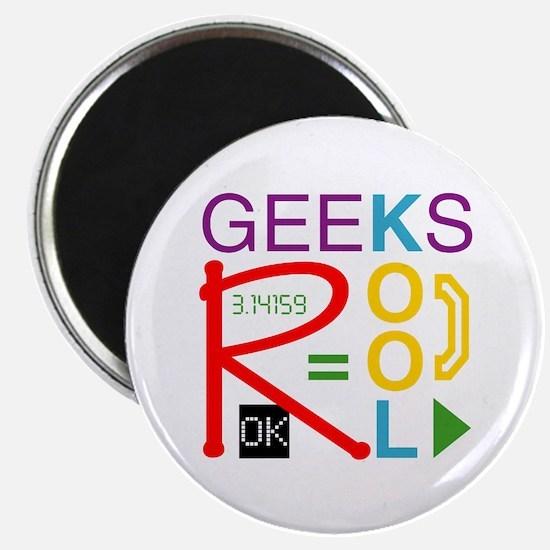 Geeks R Kool Magnet