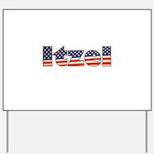 American Itzel Yard Sign