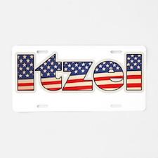American Itzel Aluminum License Plate