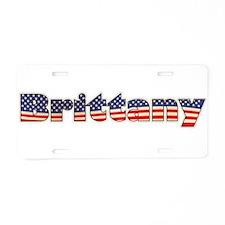 American Brittany Aluminum License Plate