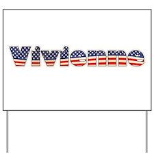 American Vivienne Yard Sign