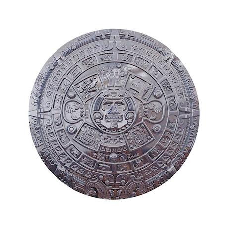 """Modern Mayan Calender 3.5"""" Button (100 pack)"""