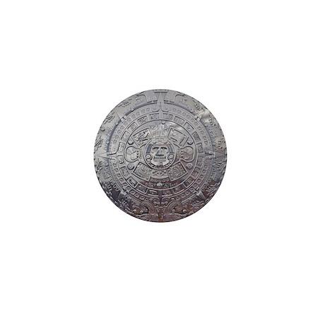 Modern Mayan Calender Mini Button (10 pack)